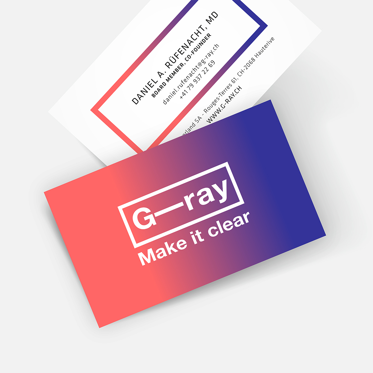 G-Ray Cartes visites